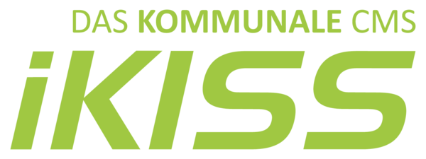 Logo des Content-Management-Systems iKISS.